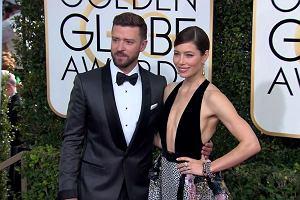 Złote Globy 2017. Justin Timberlake z zachwycającą Jessicą Biel
