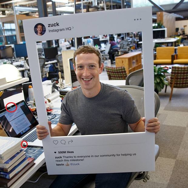 photoęmoth mark Zuckerberg will  honorł recording Instagram
