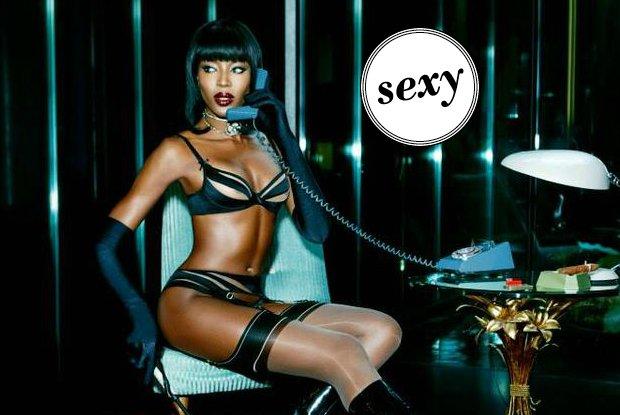 Naomi Campbell dla Agent Provocateur! Kolejna presti�owa kampania ikony modelingu [ZDJ�CIA]