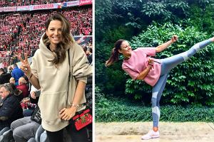 Pastelowe bluzy w stylu Anny Lewandowskiej