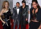 Pharrell z �on�, nieziemsko seksowne Minogue i Scherzinger. Zobacz, jakie gwiazdy przyby�y na BRIT Awards 2014