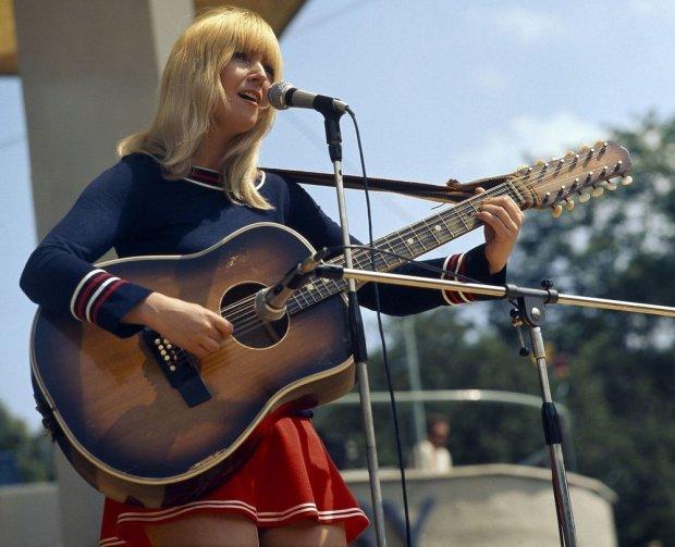 Maryla Rodowicz w Opolu w 1971 roku