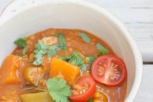 Sambhar - rozgrzewająca zupa