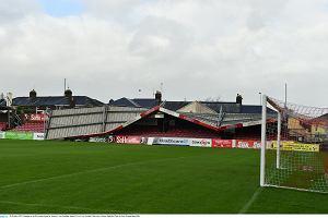 Huragan zniszczył stadion w Irlandii [WIDEO]
