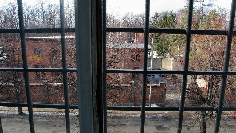 Okno zakładu poprawczego
