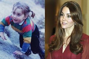 Od grzecznej dziewczynki w mundurku do eleganckiej księżnej. Jak zmieniała się Kate Middleton