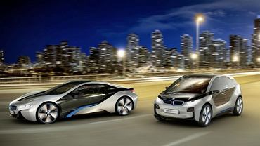 BMW i8 i BMW i3