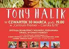 """Spotkanie wokół książki o Tonym Haliku w """"Centrum Premier Czerska 8/10"""""""