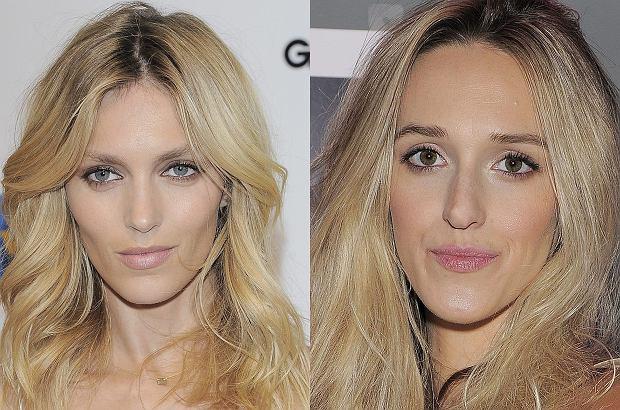 Zdjęcie numer 0 w galerii - Anja Rubik i Aleksandra Żebrowska wyglądają jak siostry? Nie tylko one. Zobaczcie sławną