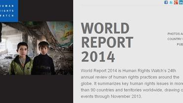Raport o stanie praw człowieka na świecie