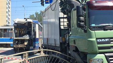Wypadek tramwaju we Wrocławiu