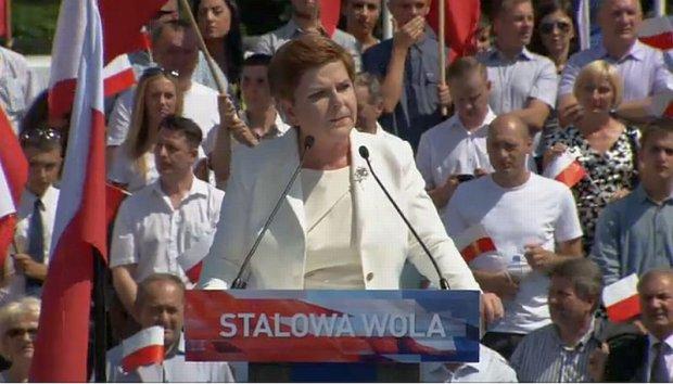 Beata Szydło w Stalowej Woli
