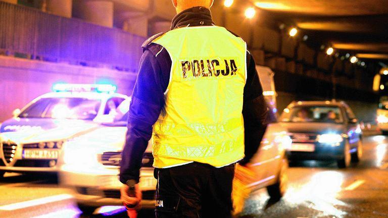 Policja. Kontrola drogowa