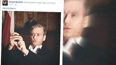 """Robert Biedro� opublikowa� selfie. A fani ju� """"wiedz�"""", dlaczego to zrobi�"""