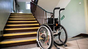 Wózek inwalidzki - zdjęcie ilustracyjne