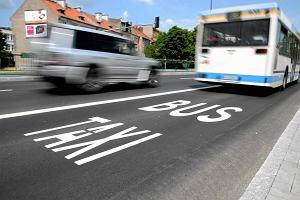 Buspasy oficjalnie wybudowane, ale nie odebrane