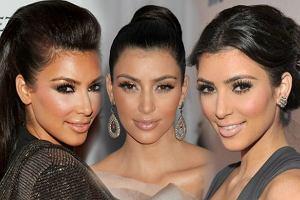 Jedwabne rzęsy w stylu Kim Kardashian
