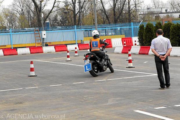 Egzamin na prawo jazdy na motocykl