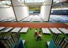 Setki łóżek. Tak Niemcy szykują się na przyjęcie fali uchodźców