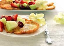 Placuszki z sa�atk� owocow� - ugotuj