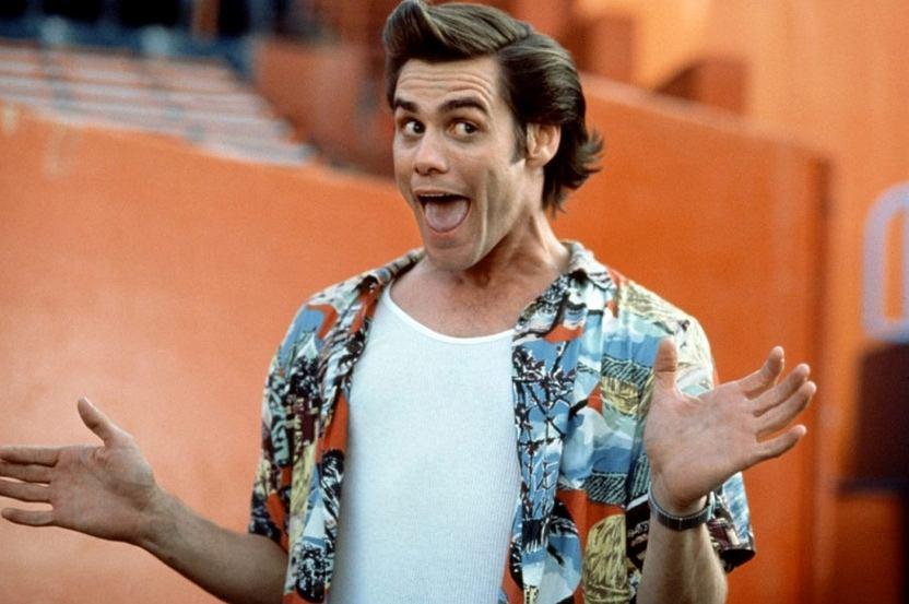 Kadr z filmu 'Ace Ventura: Psi detektyw'