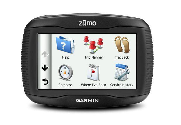 Nawigacja dla motocyklist�w: Garmin zumo 350LM. Cena: ok. 700 USD