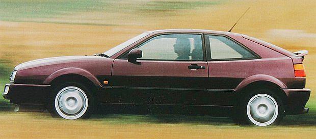 Początkowo Corrado miał się nazywać Scirocco III