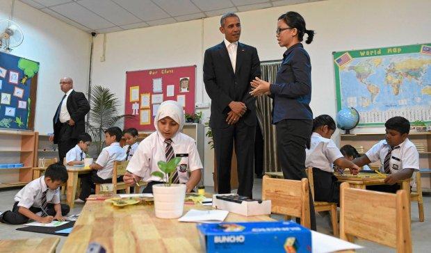Obama i muzułmańskie dzieci. 'One reprezentują przeciwieństwo terroru'