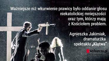 'Klątwa' w Teatrze Powszechnym