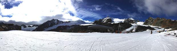 narty na lodowcu, pitztal