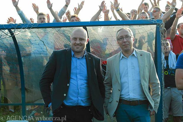 Marcin Ferdzyn i Rafał Krakus, szefowie Widzewa
