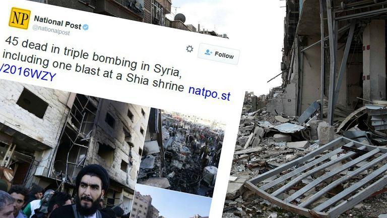 Zamachy w Syrii