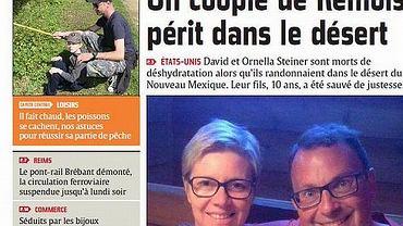 Małżeństwo Francuzów - 42-letni David Steiner i jego 51-letnia żona Ornella