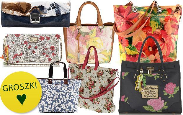 3dc0c8222e199 Torebki w kwiaty - ponad 30 propozycji!