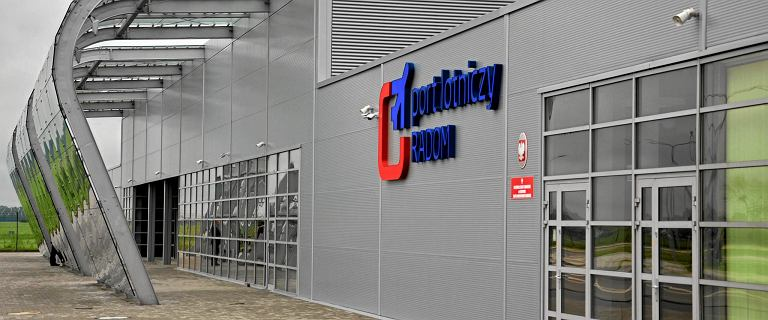Setki milionów złotych na reanimację portu w Radomiu. 'To położy dwa inne lotniska'