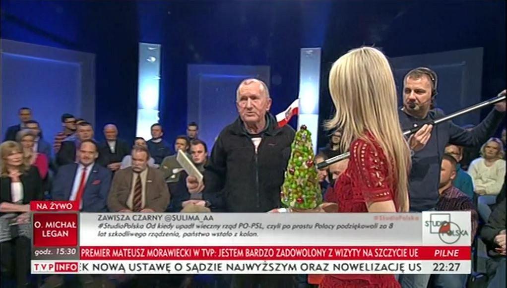 Magdalena Ogórek w TVP Info