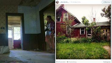 My�la�a, �e ten dom jest opuszczony. Pewnego dnia postanowi�a wej�� do �rodka