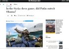 """""""Washington Post"""": Putin opuszcza Syrię jako triumfator. """"FAZ"""": Putin dostał co chciał"""