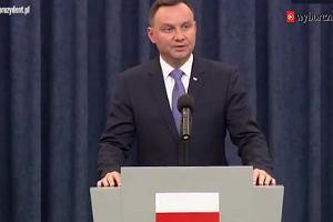 Andrzej Duda: Referendum ws. uchodźców razem z wyborami parlamentarnymi [CAŁE PRZEMÓWIENIE]