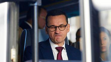 Mateusz Morawiecki na taśmach mówił o wypadku Roberta Kubicy