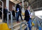 Wizyta delegatów UEFA na Zawiszy