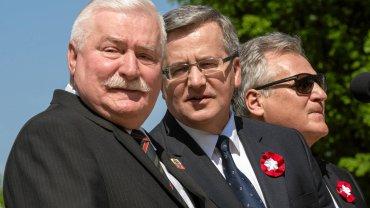Prezydenci Wałęsa, Komorowski i Kwaśniewski