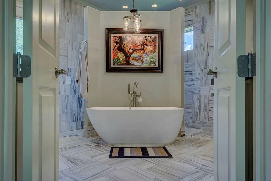 3 pomysły na aranżację łazienki - inspiracje