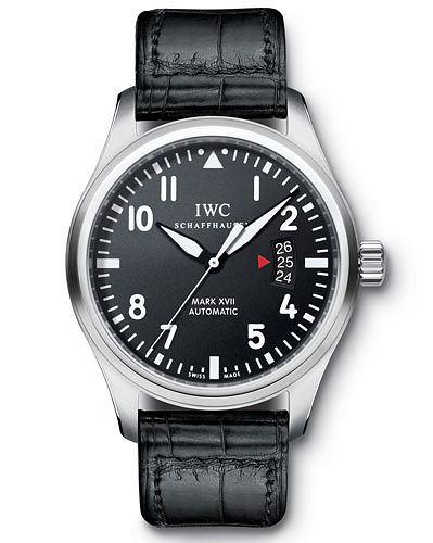 Hit: zegarki dla pilotów, moda męska, zegarki, IWC Pilot's Watch Mark XVII. Cena: 19 610 zł