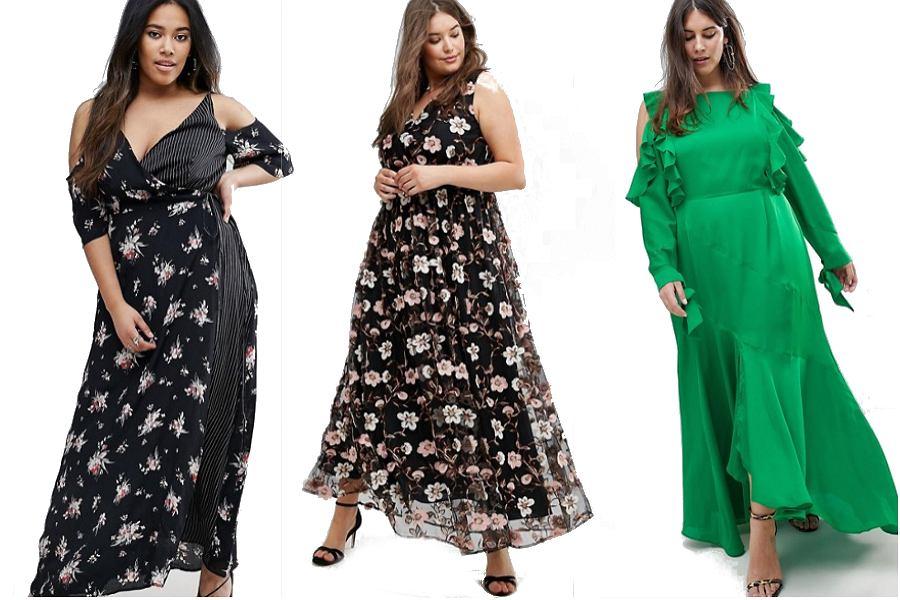 4da2e379ec Sukienki maxi dla puszystych kobiet