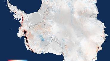 Tak Antarktyda traci lód