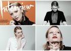"""Mia Wasikowska prezentuje zupe�nie nowy wizerunek na �amach """"Interview Magazine"""" - rozja�nione brwi, blond w�osy i matowe usta"""