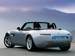 BMW Z8 - test | Żyje się tylko dwa razy
