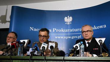 Konferencja prasowa Naczelnej Prokuratury Wojskowej