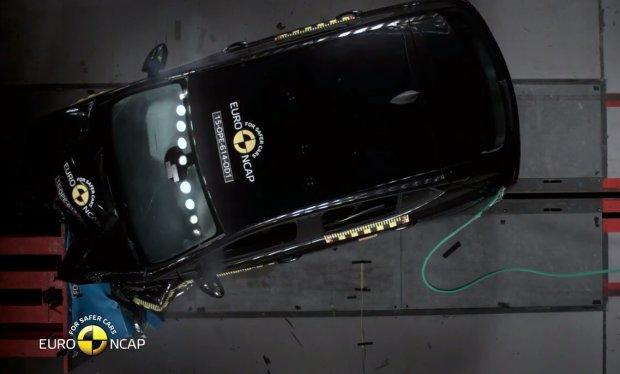 Opel Astra testy Euro NCAP